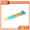 Novel multi functional stationery cartoon ball point jumbo pen