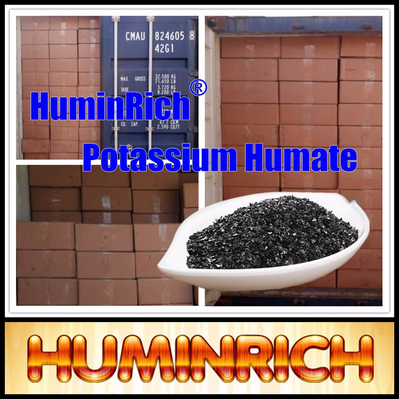 """HuminRich"" Pure Potassium Humate Acid For Sale"