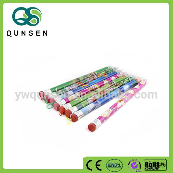 Customized logo high quality graphite pencil