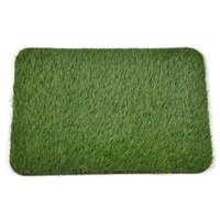 "Doormat Series PE Synthetic Artificial Turf Grass Rubber Backed For Doorway, 23.62""x15.75"""