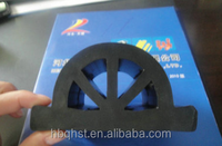 Hot selling extruded anti vibration hard rubber half round bumper protection seal strips for boat from China