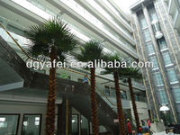 High Quality Evergreen Outdoor Large Decorative Artificial big/middle palm Tree
