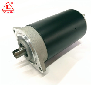 Carbon Brush DC Motor Hydraulic 24V 500W