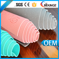 Latest portable harmless eco friendly exercise custom yoga mat