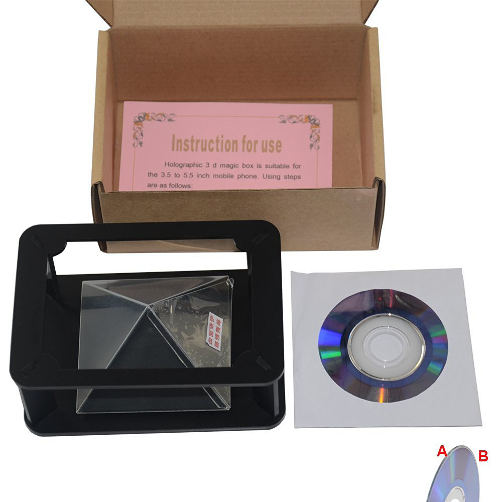 3d hologram display box holographic projection Advertising Player