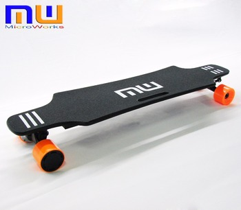 35 Inch 15 mph 500w dual motor adult wireless remote control electric skateboard