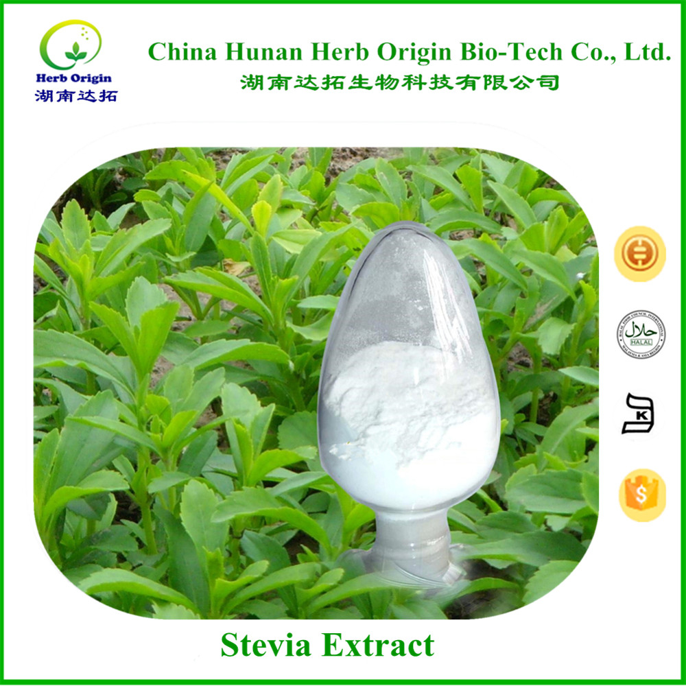 ISO&FDA Organic stevia extract powder for direct manufacturer
