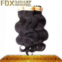 Salon hairstyle 7a healthy wet and wavy clip in hair extensions
