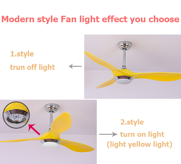 2017 factory price no noise remote control cooling air industrial ceiling fan with 12W led light