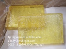 Polypropylene hot melt adhesive for diaper napkin, hot melt glue