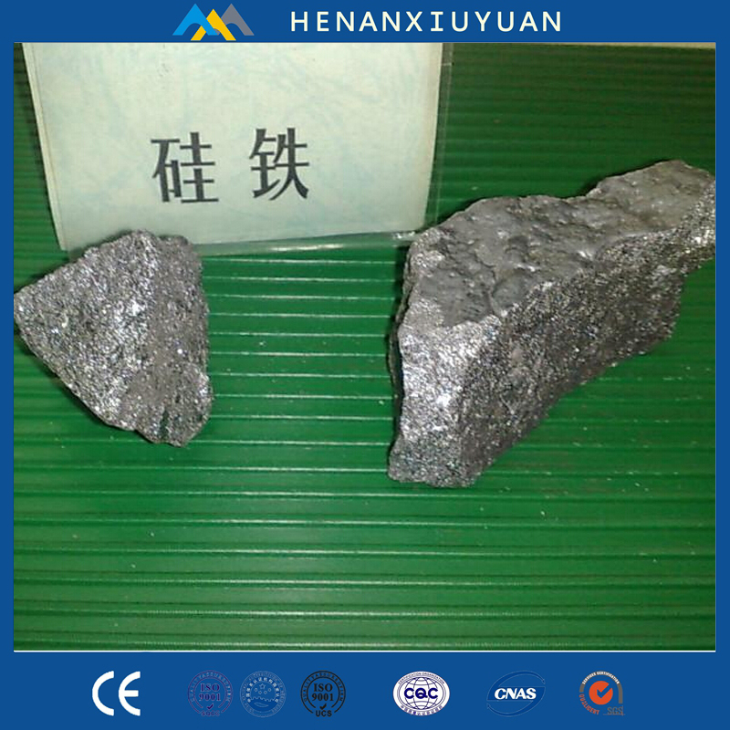 Chinese manufacturer export FeSi alloy lump , ferro silicon