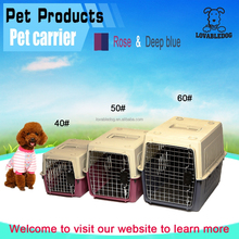 China wholesale Pet carrier (suit for air fright) // dog cage/plastic carrier