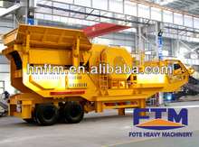 high quality low cost best selling mobile stone jaw crusher from fote