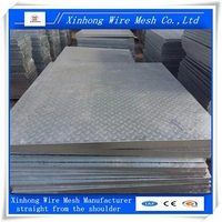 steel grating weight and standrad size