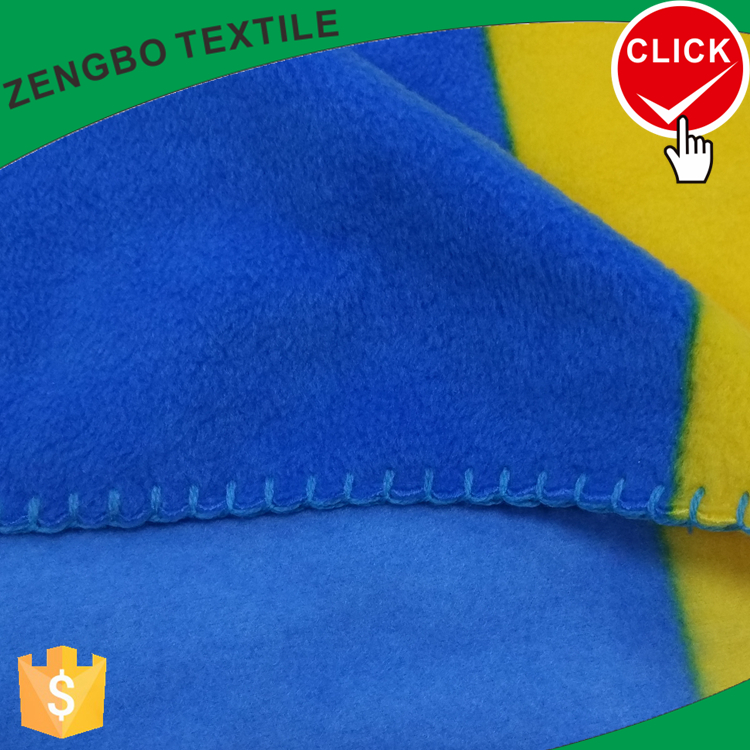 Popular solid color polar fleece with high quality