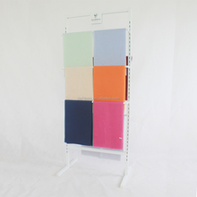 Colorful scarf display stand hanging display racks customized size factory price