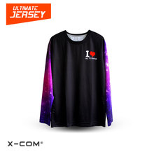 X-COM 100% Polyester Rugby/Ultimate Frisbee Leagues Full Color Printed Custom Team Jerseys