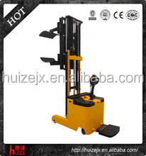 3 meter High Lifting Height Electric Roll Paper Stacker Fork Lift