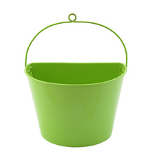 Metal green wall hanging planters flower pot indoor for garden supplier