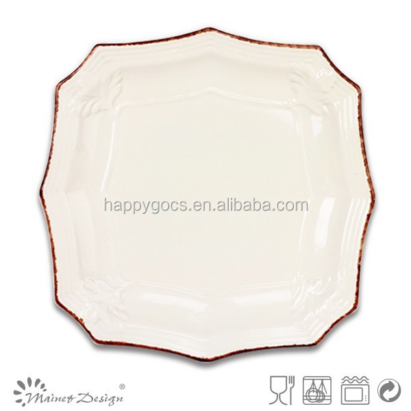 wholesale embossed dinner plates,cheap white dinner plates for restaurant,cheap bulk dinner plates