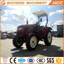 55HP agriculture machinery equipment farm tractor price with A/C Cabin
