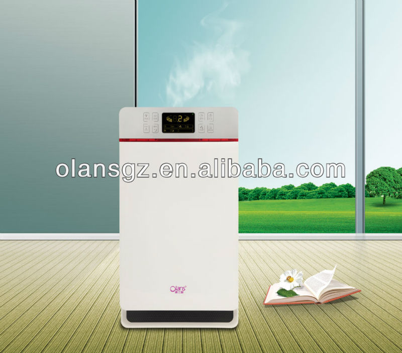 Photocatalyst Air Purifier with Mechanical Control for home office hotel and room use from guangzhou olans