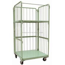 Online Shopping Rolling Pallet Cage for clothes