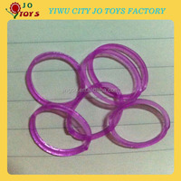 2014 DIY glow in the dark loom bands , fashion design diy colored rubber loom bands bracelet
