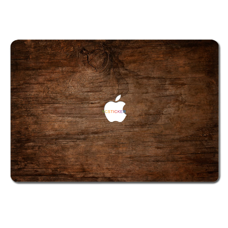 OEM Laptop Accessories Decal Sticker Protector Top Decorative Skin Wooden for MacBook Air