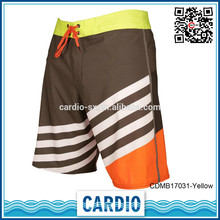 newly design 4 way stretched mens boardshorts rubber pants for men
