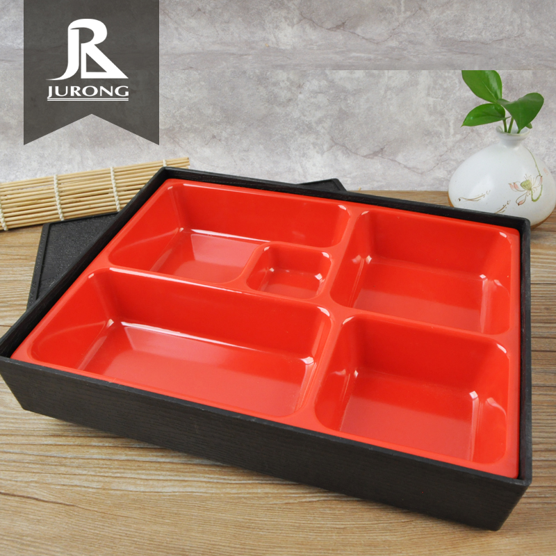 Best dinnerware factory sell school tray lunch box <strong>plastic</strong> with low price