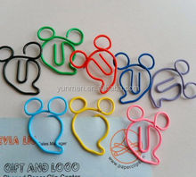 custom promotion metal pen clips paper clip Eco friendly
