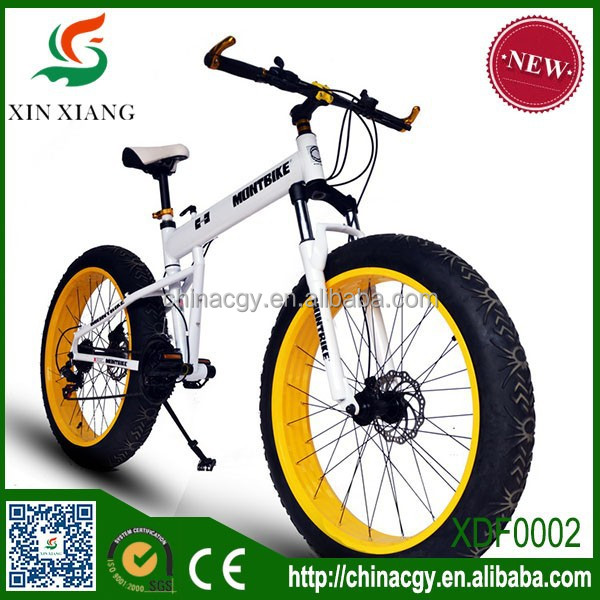21 Speed folding aluminum alloy fat tire bike