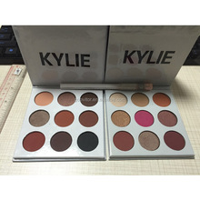KYLIE Cosmeticos Eyeshadow Palette Bronze Burgundy 9 Colors Eye Shadow Palette By Kylie <strong>Cosmetic</strong>