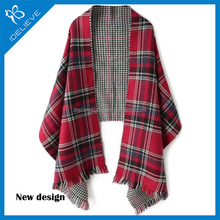 Fashion Cape Classic Scottish Z Home Fringed Scarf