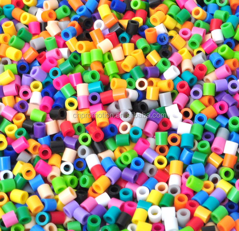 2016 hot sales educational DIY perler beads 5mm for kids christmas gift