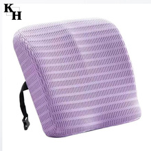 3d fabric cover Memory foam coccyx seat cushion
