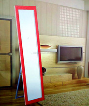 A new simple rectangle fitting room Portable pier glass The whole body mirror