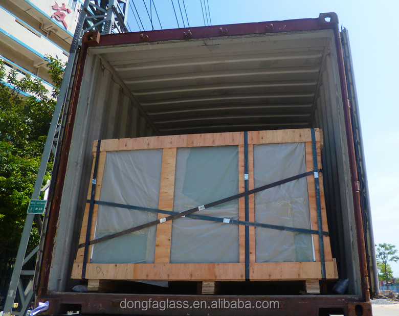 High security SGP laminated glass for commercial building