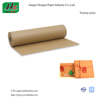 MG unbleached un coated 48-150gsm Fine Packaging Kraft Paper