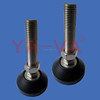 Furniture and machine black support fixed feet/leveling feet