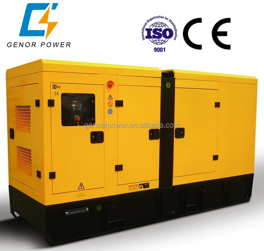 315kw 390kva Silent Diesel KTA19-G2 Generator With Cummins Engine