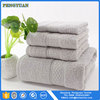 wholesale luxurious 100% pure cotton bath towel set for home