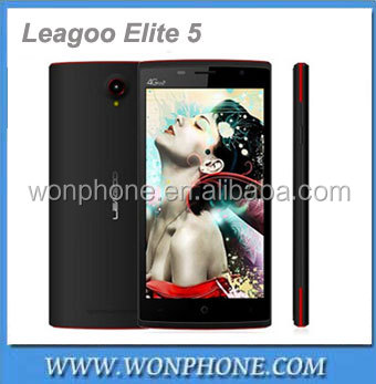 Original Leagoo Elite 5 MTK6735 5.5 inch IPS 1280x720 Quad Core Android 5.1 4G LTE Mobile Cell Phone 2GB RAM 16GB ROM 13MP