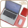 Microfiber Leather Multifunction PC Bags Laptop Bag Sleeves for Macbook with Mouse Mat and Purse