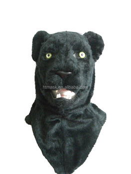fashional mask plastic animal face mask for children party panther mask animal head mask