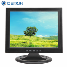 "OEM 15"" 17"" TFT LED CCTV Monitor Black 17 Inch LCD HD BNC Monitor for School Bus CCTV System"