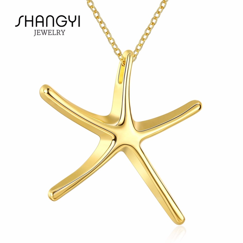 New Designed Beautiful Gold Chain Pendant Necklace
