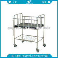 AG-CB005 moving stainless steel child car bed