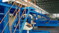 Automatically widely used Continuous Polyurethane Sandwich Panel Production Line